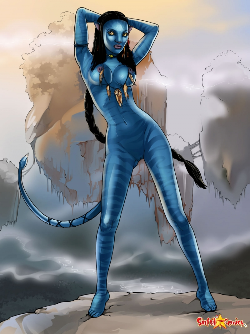 519344 - James_Cameron's_Avatar Na'vi Neytiri Sinful_Comics.jpg