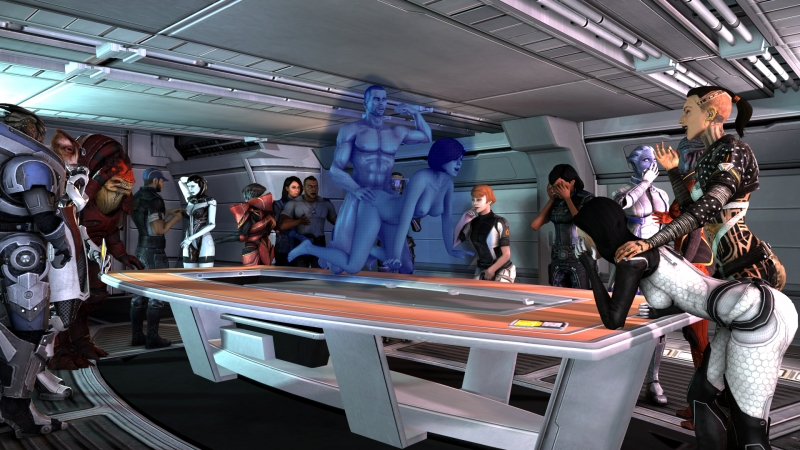 Commander Shepard 1429607 - Asari Ashley_Williams Commander_Shepard EDI Garrus_Vakarian Jack James_Vega Javik Jeff_Moreau Kelly_Chambers Liara_T'Soni Mass_Effect Mass_E