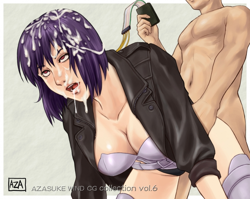 Motoko Kusanagi 105066 - Azasuke_Wind Ghost_in_the_Shell Motoko_Kusanagi.jpg