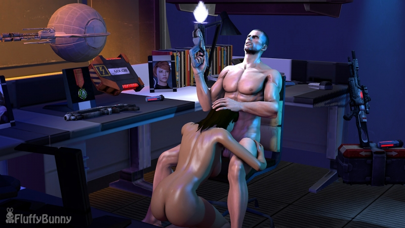 Mass Effect 2 Sex Scene With Miranda