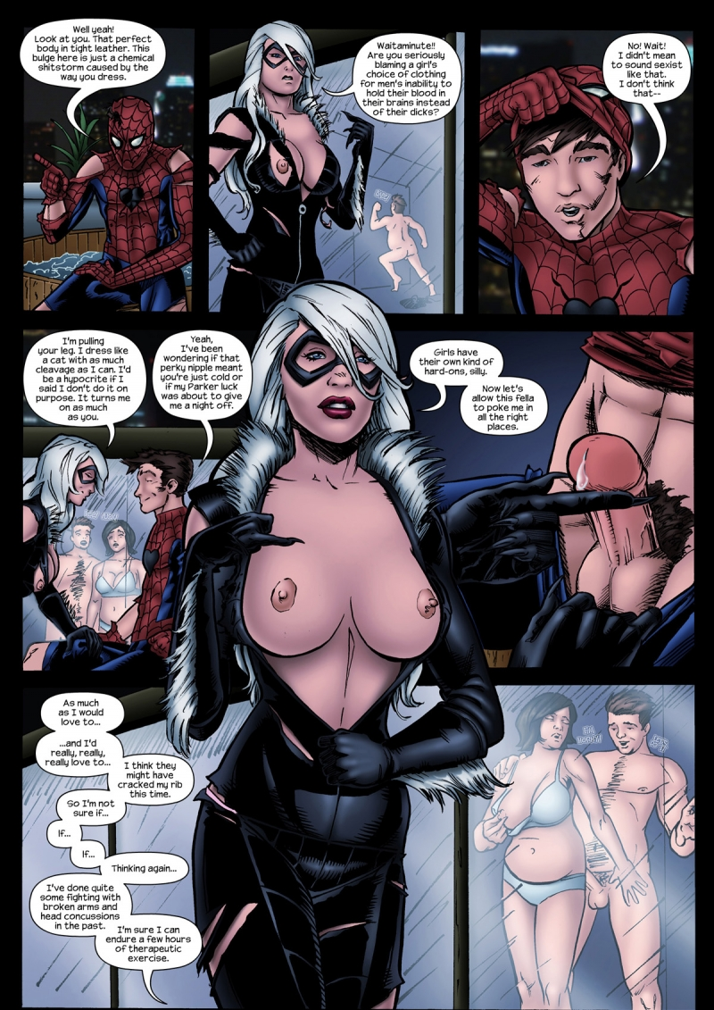 Spiderman Drawn Sex