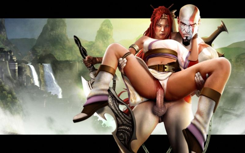 187750 - God_of_War Heavenly_Sword Kratos Nariko Ranged_Weapon crossover.jpg