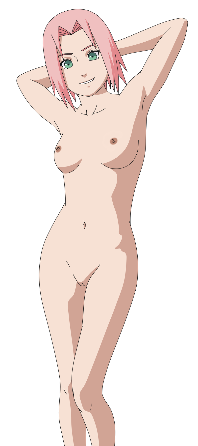 Hot busty naruto girl sakura sucking dick