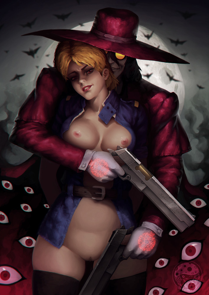 Seras Integra Hellsing share_it_17676ed2a9a7f504d3597f65a80e6a49