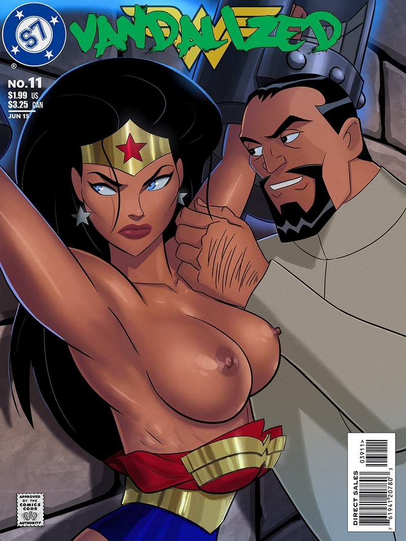 Vandalized: Wonder gal is now Vandal Savage's plaything!