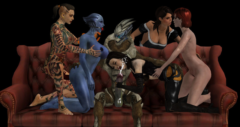 1357020 - Asari Ashley_Williams Commander_Shepard FemShep Garrus_Vakarian Jack Liara_T'Soni Mass_Effect Mass_Effect_3 Miranda_Lawson Turian.jpg
