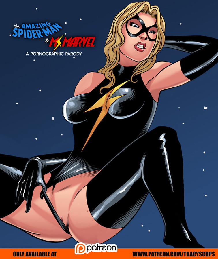 Ms. Marvel look like dirty slut