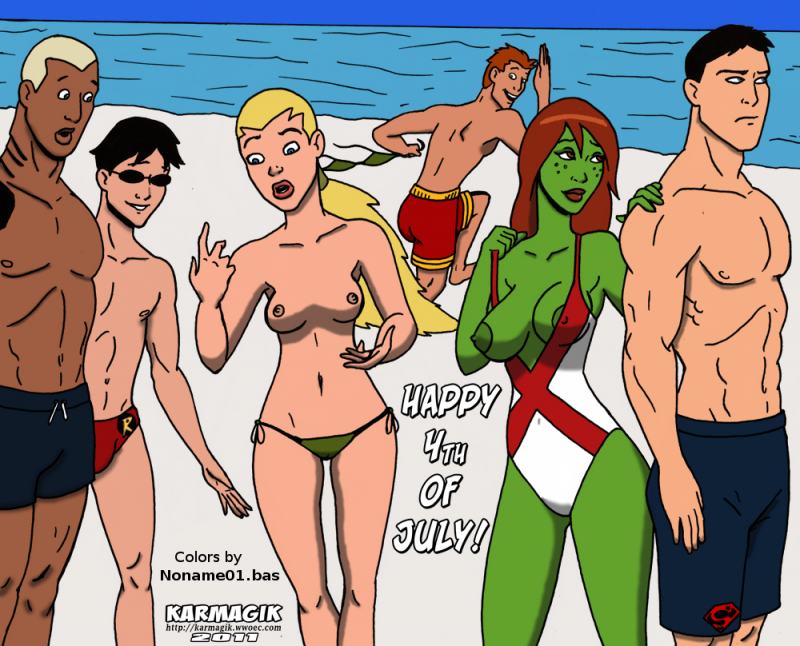 Young Justice Sex Comic