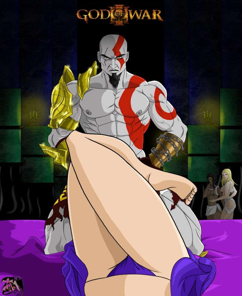 Kratos 1013572 - Aphrodite Aphrodite's_Handmaidens God_of_War Kratos.jpg