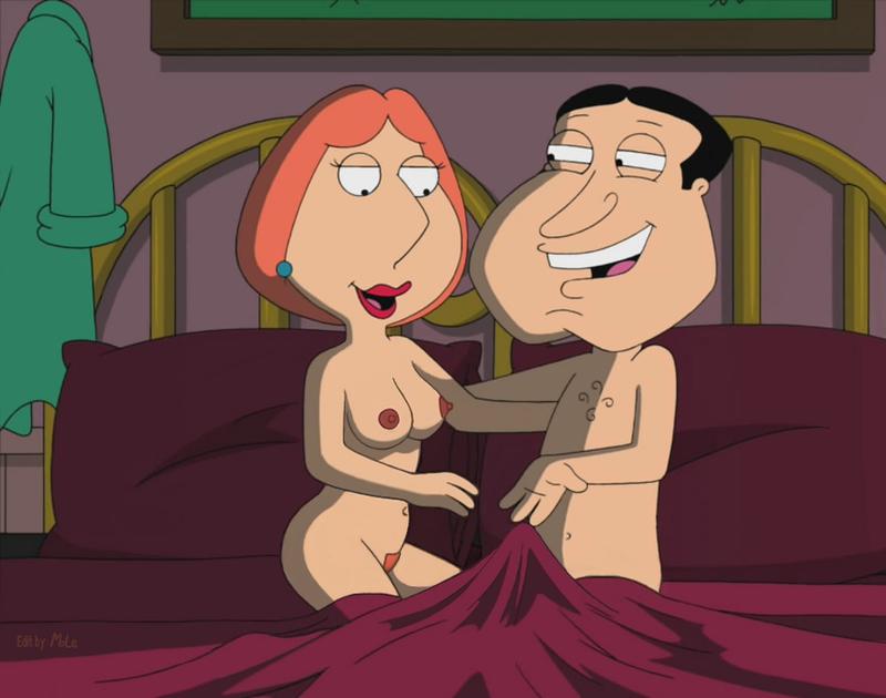Lois Griffin Glenn Quagmire 551744 - Family_Guy Glenn_Quagmire Lois_Griffin Mole.jpg