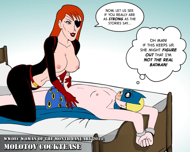 Molotov Cocktease 1296656 - Batman DC Hank_Venture Molotov_Cocktease P.Chronos Venture_Brothers cosplay.png