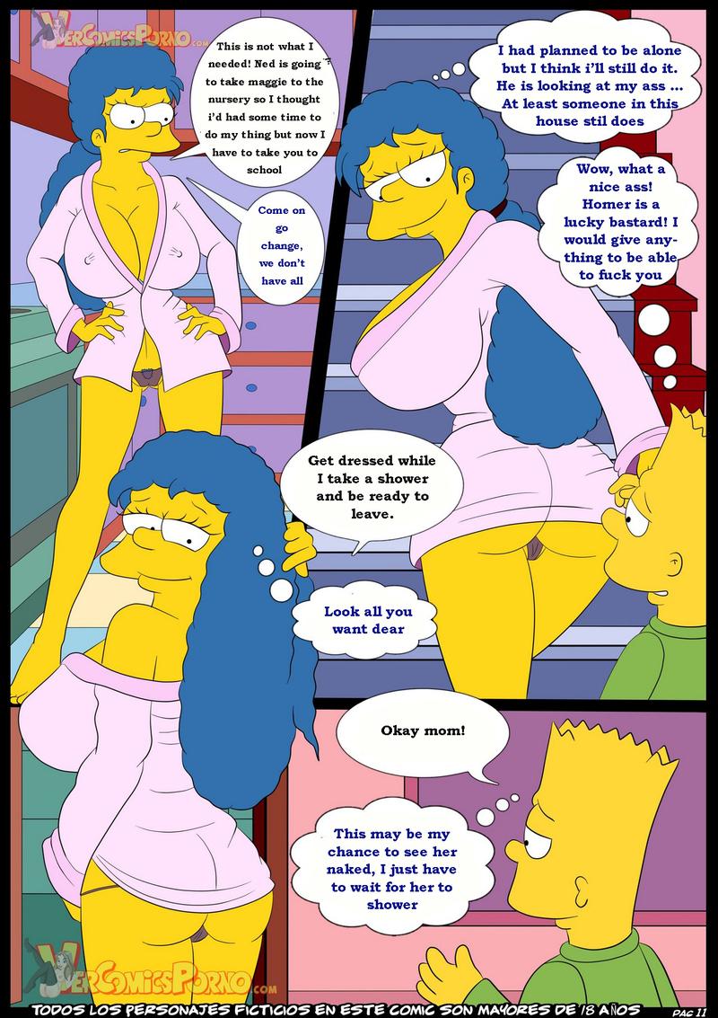 El Juego De Damas Los Simpsons Ver Comics Porno