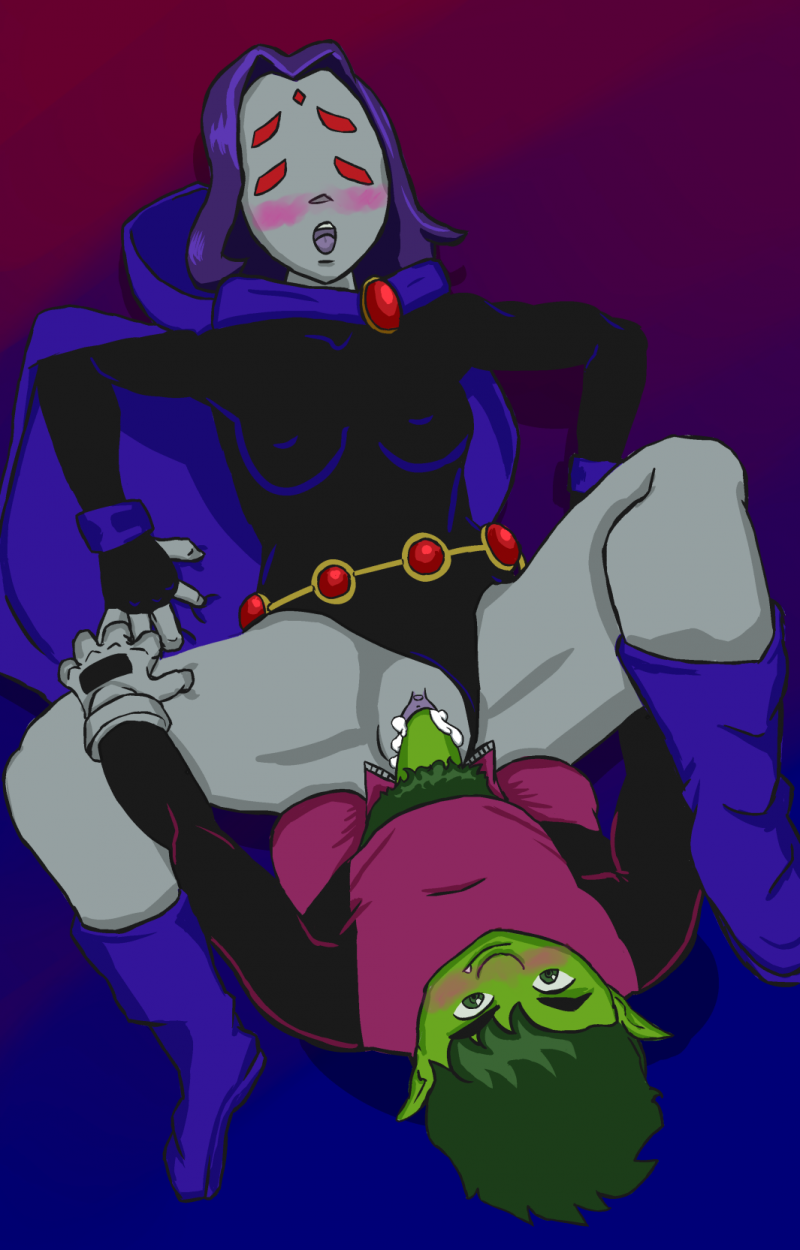 raven and beast boy fuck