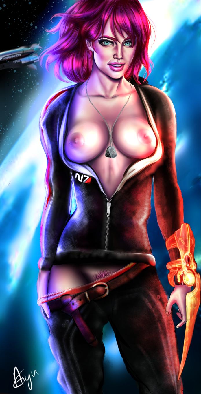 Ashley Mass Effect Sex Scene