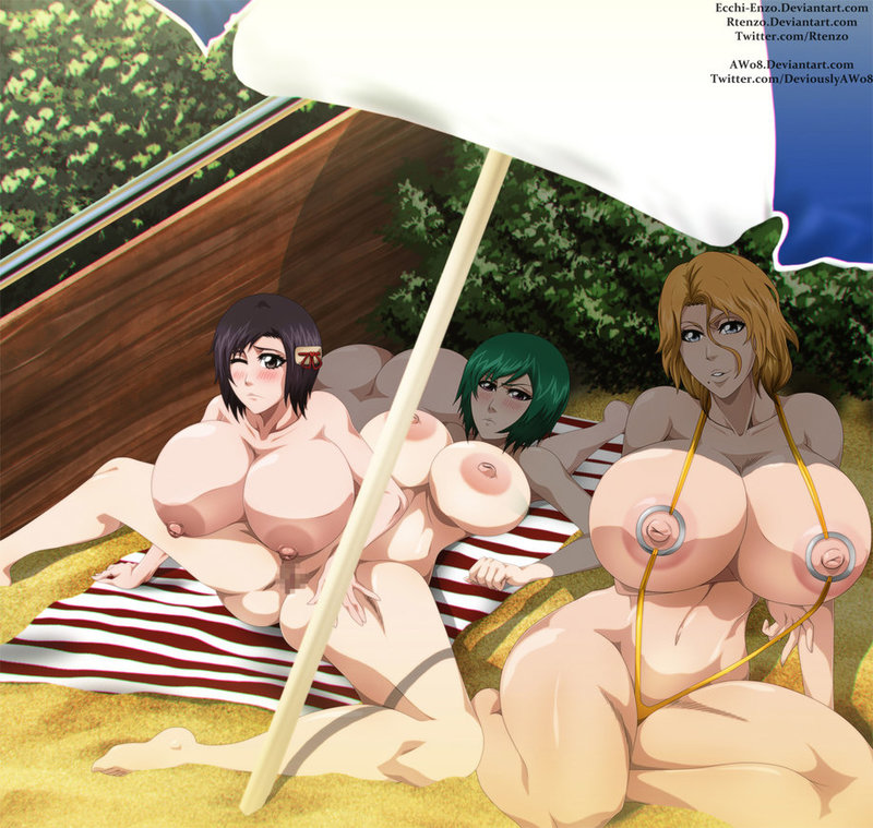 1231915 - Bleach Momo_Hinamori Nozomi_Kujo Rangiku_Matsumoto rtenzo.jpg