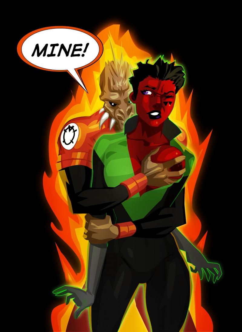 356793 - Agent_Orange DC Green_Lantern Green_Lantern_Corps Larfleeze Soranik_Natu morganagod.jpg