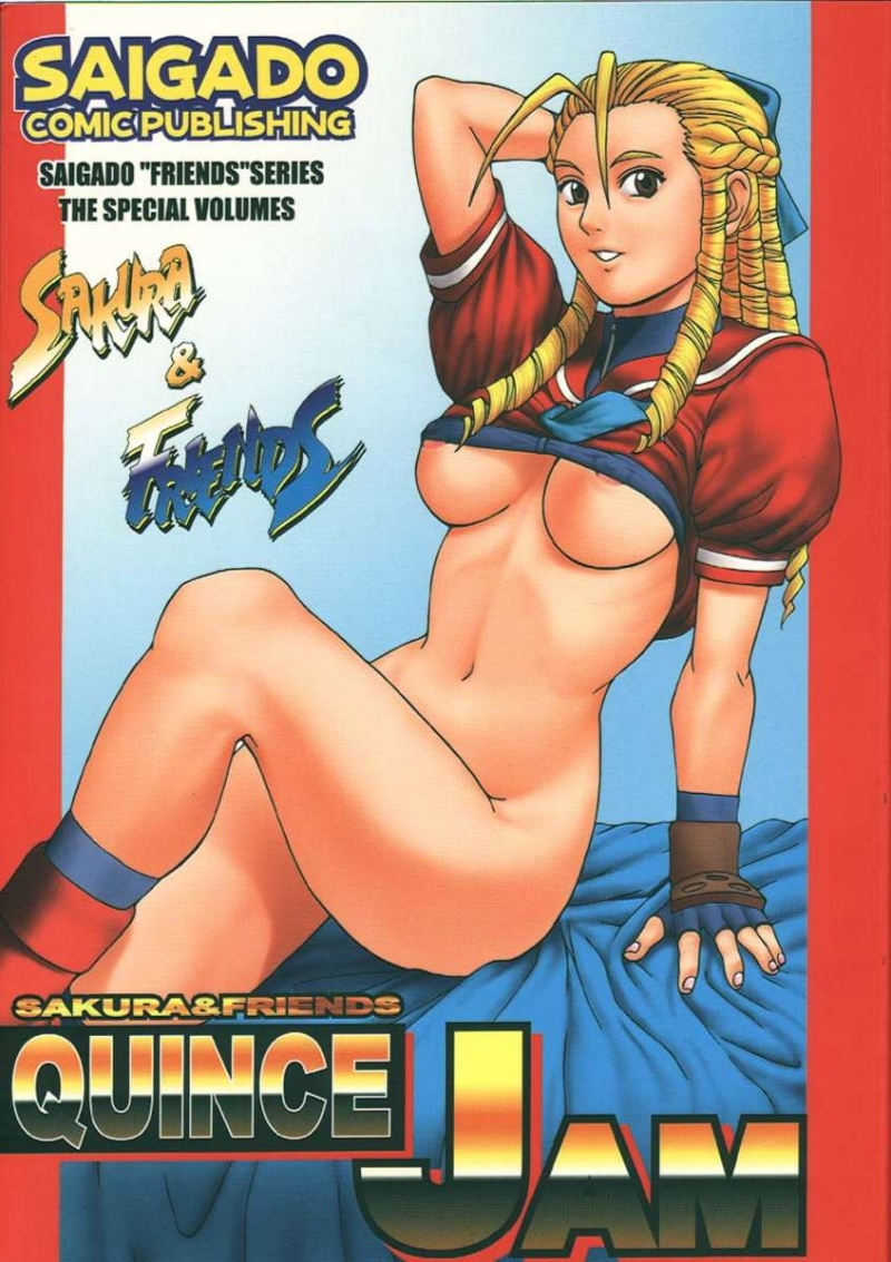 Sakura & Buddies Quince Slam [Saigado] [Street Fighter Alpha Three]