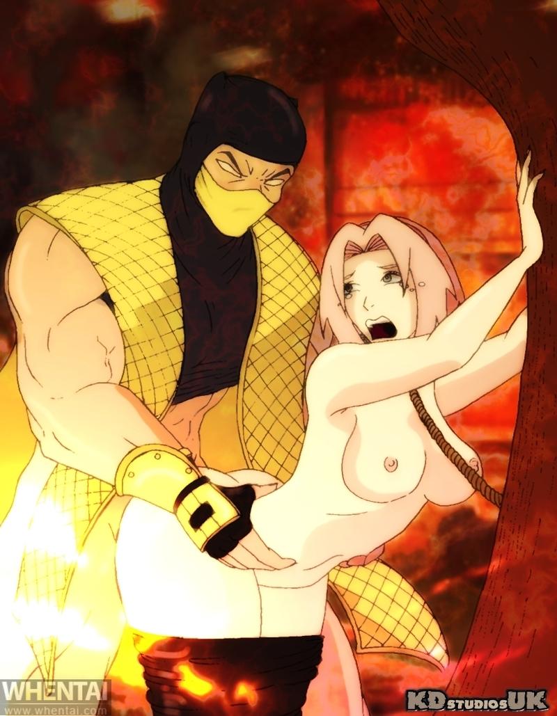1672219 - Mortal_Kombat Naruto Sakura_Haruno Scorpion crossover.jpg