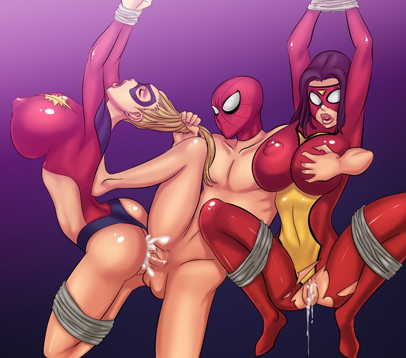 Ultomate Spiderman Hentai
