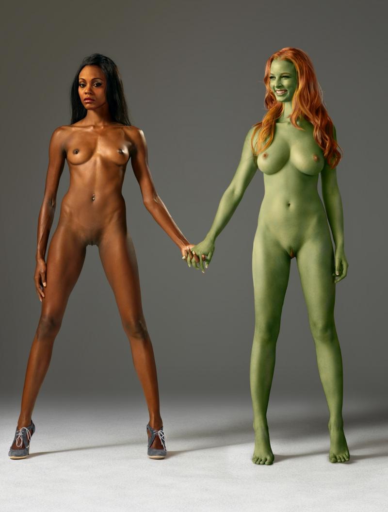 Nyota Uhura 782452 - AdamantP Gaila Nyota_Uhura Rachel_Nichols Star_Trek Zoe_Saldana fakes orion_slave_girl.jpg