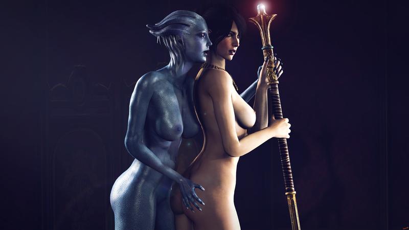 1773260 - Dragon_Age Liara_T'Soni Mass_Effect Morrigan rescraft.jpg