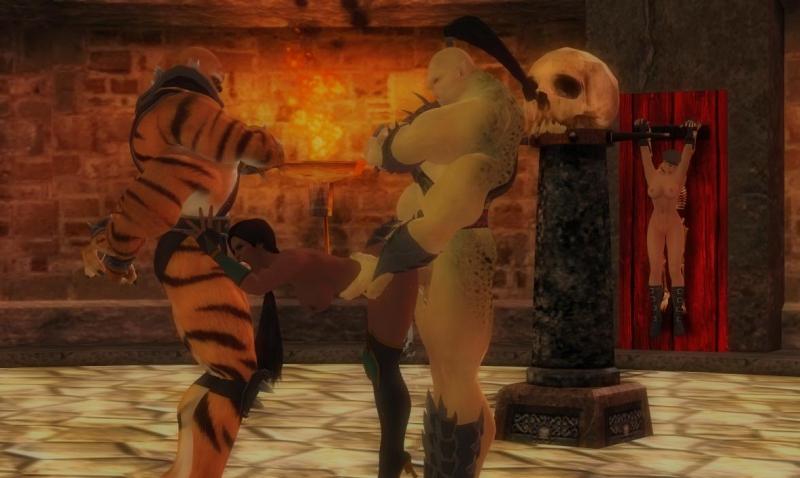 1359160 - Goro Jade Kintaro Mortal_Kombat Sonya_Blade XNALara xps.jpg