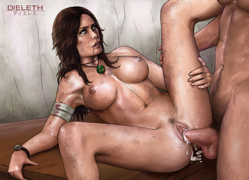 Lara Croft Soft Tits