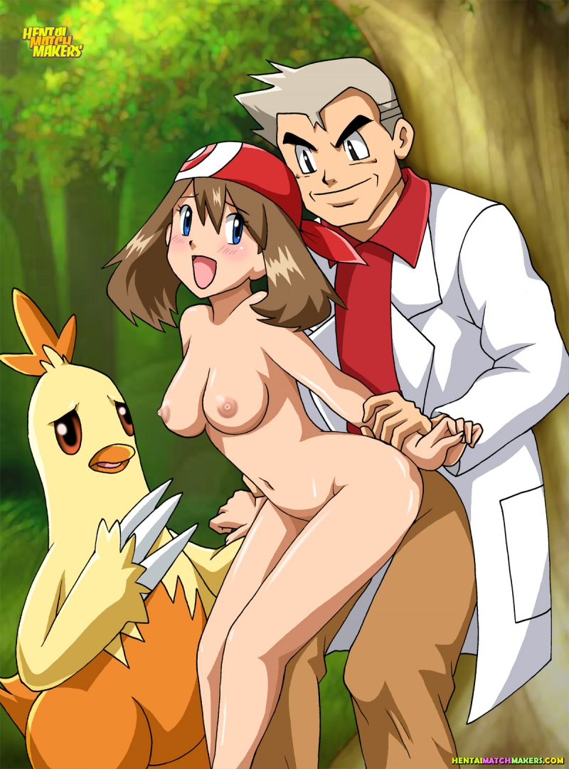 Misty Brock Nurse Joy professor-oak-and-may-pokemon.jpg