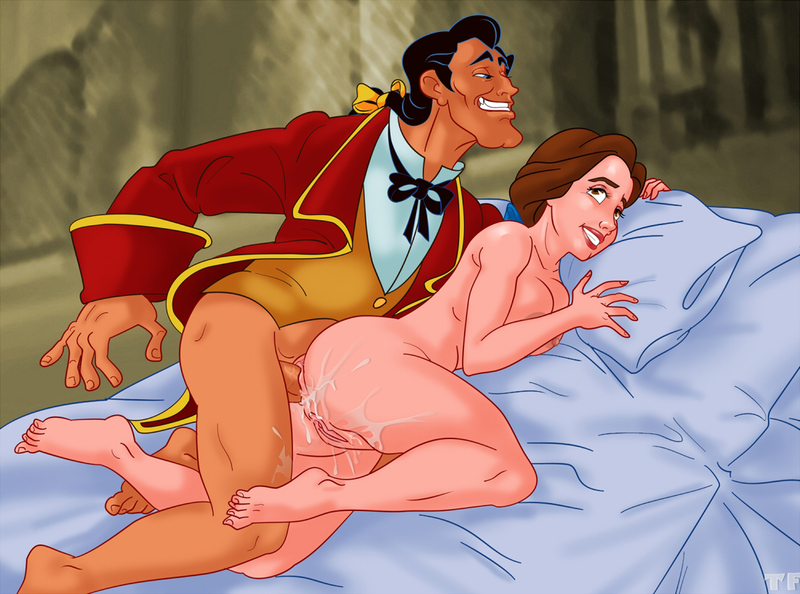 Naked Disney Belle