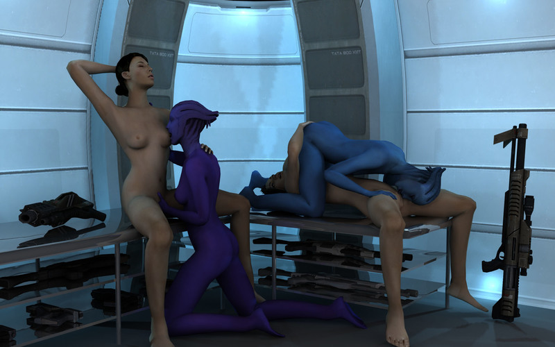 612402 - Aria_T'loak Asari Ashley_Williams DarklordIIID Liara_T'Soni Mass_Effect Miranda_Lawson.jpg