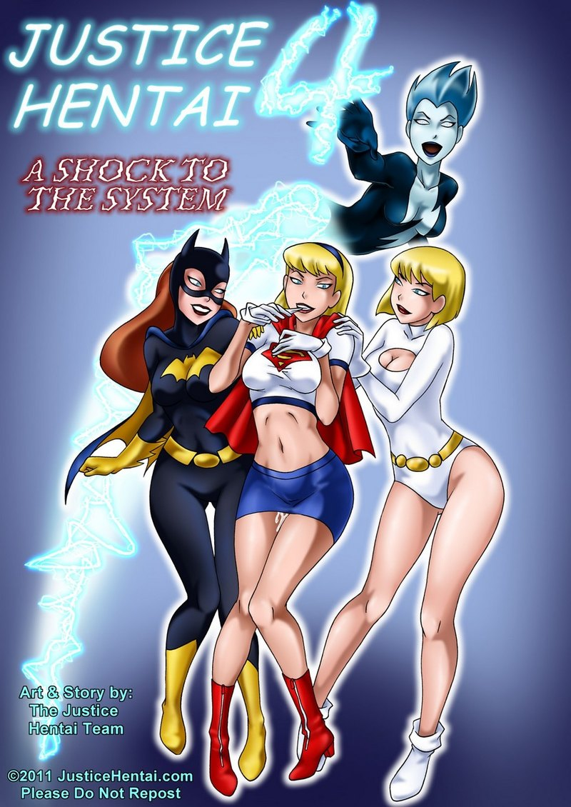 Justice Hentai 4: Sex adventures of Batgirl and Supergirl