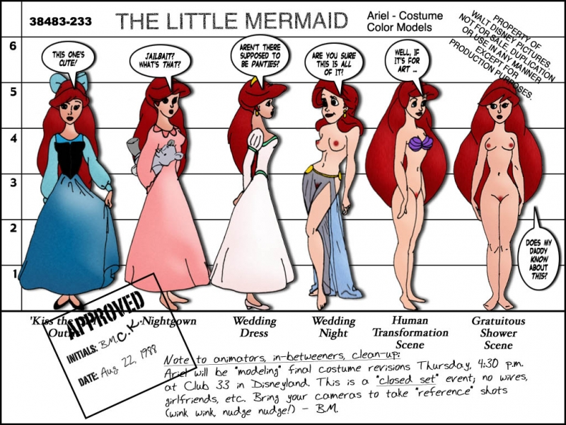 Disney Cartoon Little Mermaid Ariel