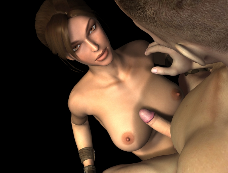Anime Lara Croft Boobs