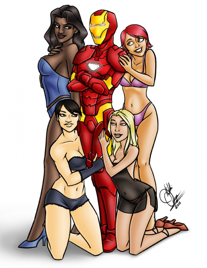 Iron Man Sex Scene