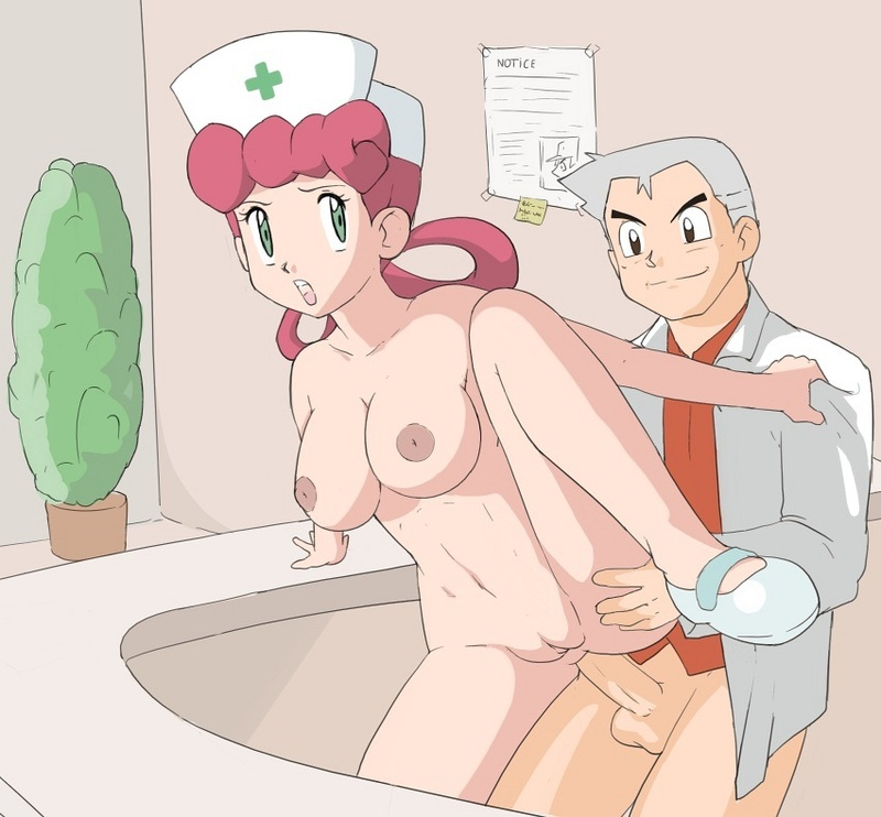 Nurse joy fuck