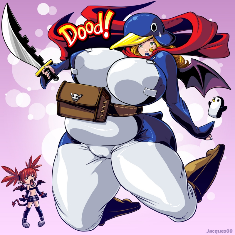 737505 - Adventure_Time Disgaea Etna Gunther Jacques00 Prinny crossover.jpg