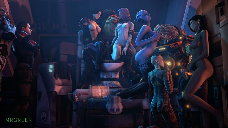 1403092 - Asari Commander_Shepard Garrus_Vakarian Grunt Jack Liara_T'Soni Mass_Effect Mass_Effect_3 Miranda_Lawson Tali'Zorah_nar_Rayya Turian Wrex krogan mrgreen quarian.png