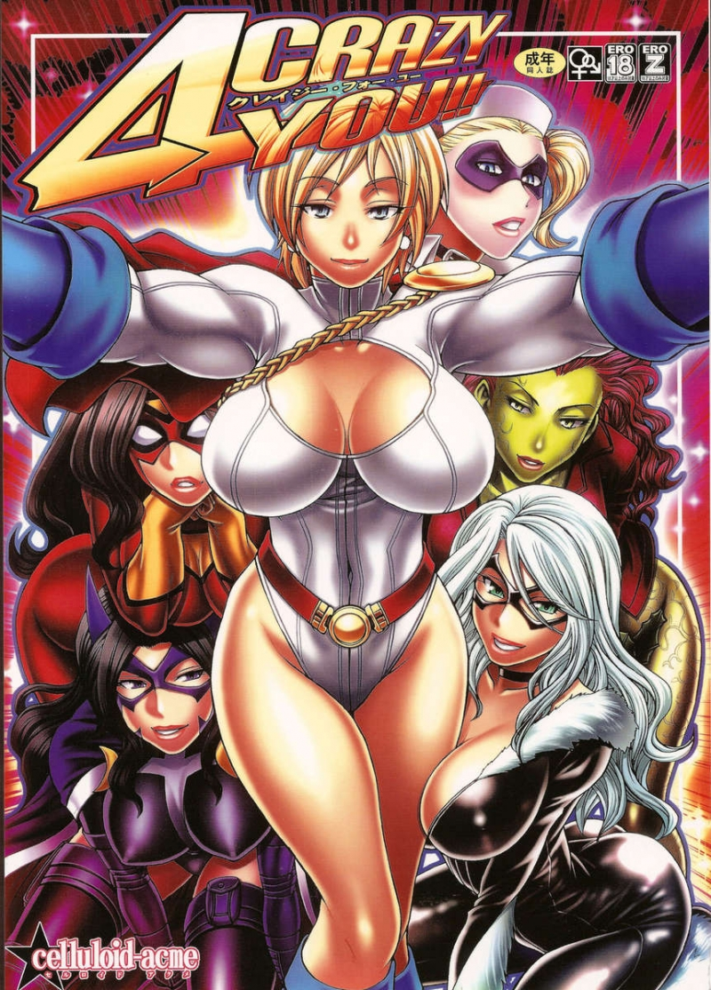Crazy 4 You!!: Hoteest comic chicks in ther best sex adventures!