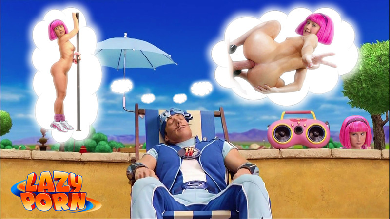 Cartoon Sex Lazy Town