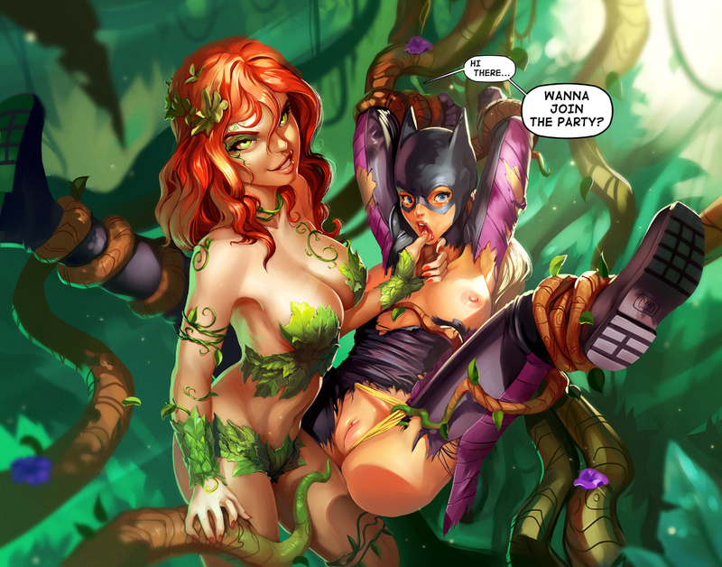 Batgirl  Poison Ivy share_it_a2a56c662490f9093853a6f82ca2c68e