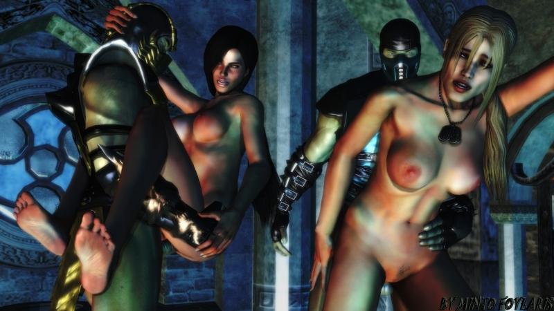 Sub Zero Sonya Blade Jade Becky Shiva 1215122 - Jade MintoFoularis Mortal_Kombat Sonya_Blade Sub-Zero scorpion.jpg