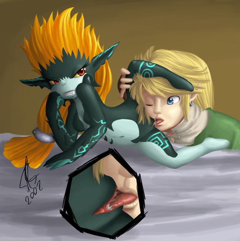 131218 - Hope(N_Forever) Legend_of_Zelda Link Midna Twili Twilight_Princess.png