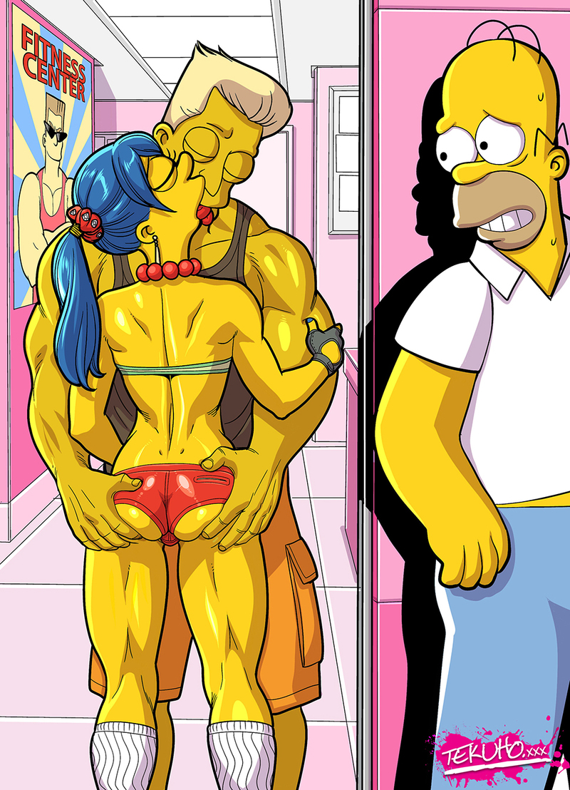 Homer Simpson has just found out that Marge is cheating on him!