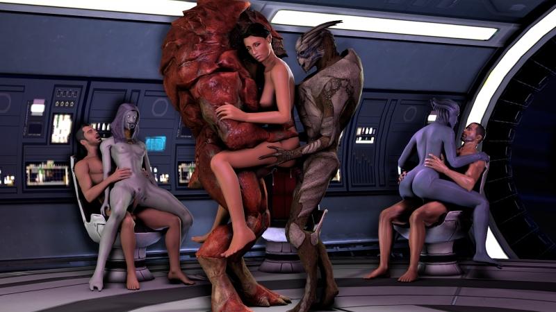 Mass Effect Miranda Porn