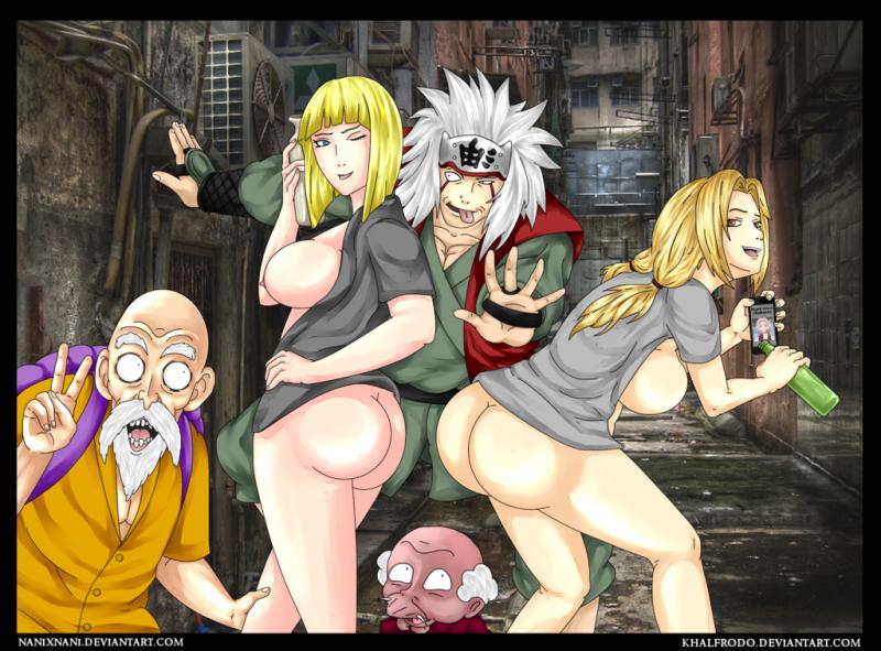 1213887 - Dragon_Ball_Z Happosai KhalFrodo Master_Roshi Naruto Ranma_12 Sakura_Haruno Samui Tsunade crossover jiraiya.png