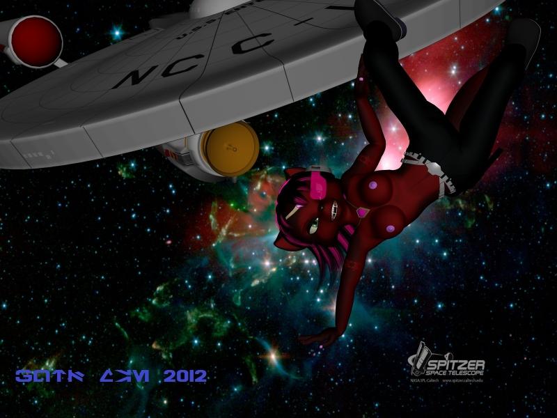 878999 - Guts-Man_(artist) Krystal Star_Fox Star_Trek USS_Enterprise.jpg