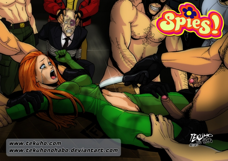Totally Spies Glory Hole Comic