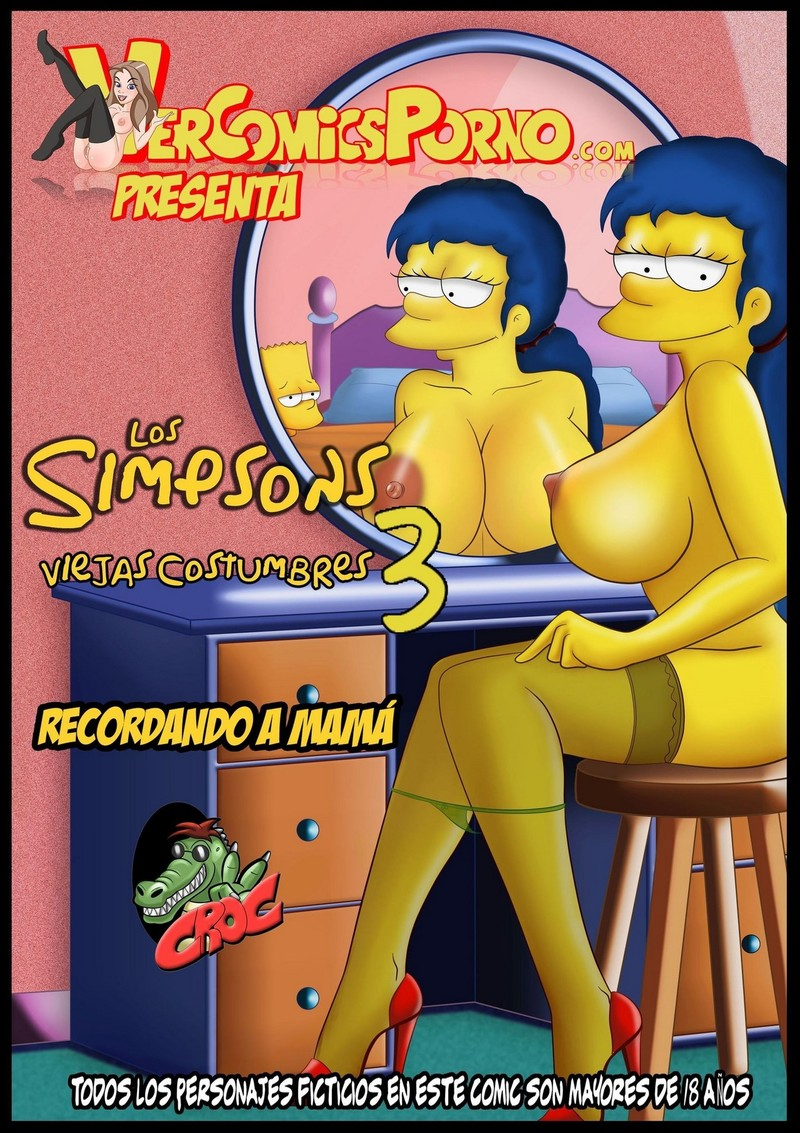 Simpson porn comics - Croc sx Los simpsons viejas costumbres Three (eng)