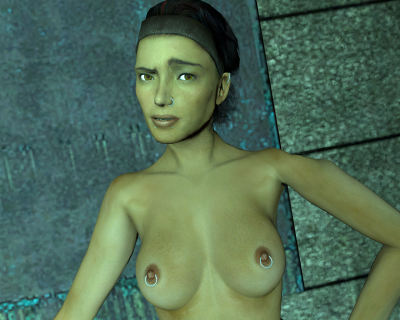 Chell And Alyx Vance Sex Gif