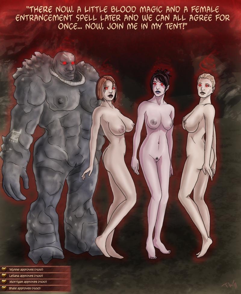 Dragon age origins morrigan porn